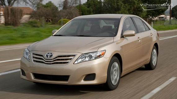 Установка ГБО на Toyota Camry Hybrid 2.4