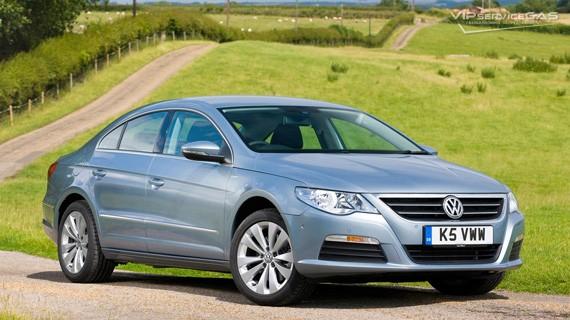 Установка ГБО на Volkswagen Passat CC