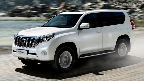 Установка ГБО на Toyota Land Cruiser Prado 150 TRJ 2.7 2018