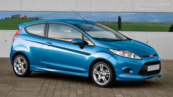 Установка ГБО на Ford Fiesta 2012