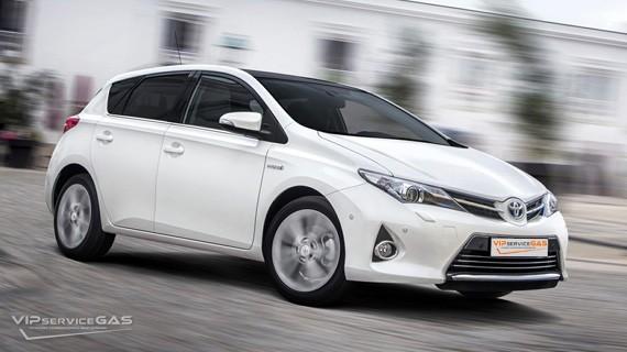 Установка ГБО на Toyota Auris 1.3 — 99 л.с.