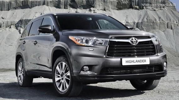 Установка ГБО на Toyota Highlander 3.5 — 2015 Prins
