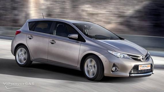 Установка ГБО на Toyota Auris 1.6 — 132 л.с.