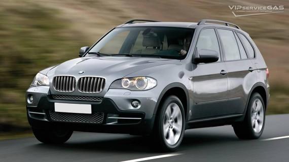Установка ГБО на BMW X5 3.0 — 2008