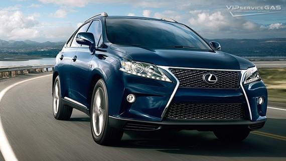 Установка ГБО на Lexus RX 350 — 2014