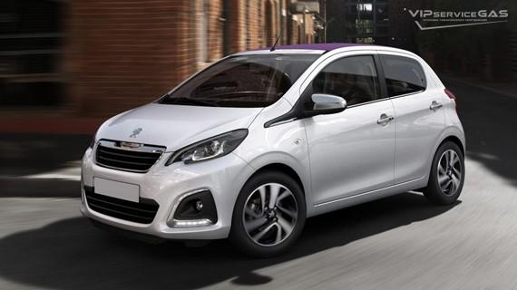 Установка ГБО на Peugeot 108 — 2015