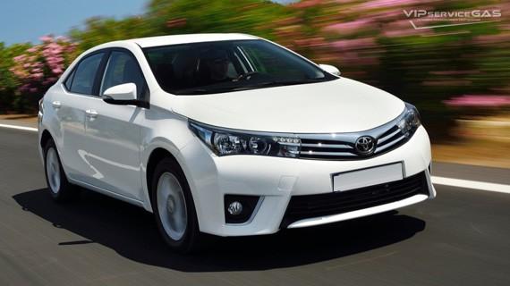 Установка ГБО на Toyota Corolla 1.33 — 2015