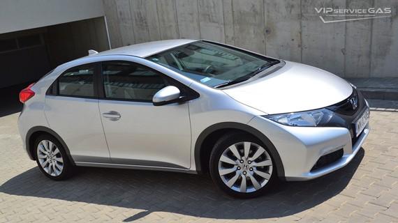 Установка ГБО на Honda Civic 5d — 2012