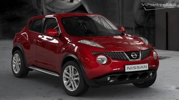 Установка ГБО на Nissan Juke 1.6 — «Landi Renzo»