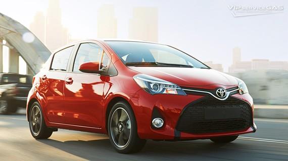 Установка ГБО на Toyota Yaris 1.33 — 2015