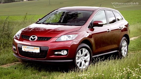 Установка ГБО на Mazda CX-7 2.3 Turbo — 238 л.с.