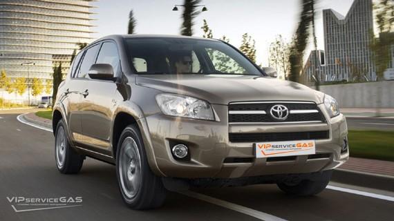 Установка ГБО на Toyota RAV4 2.0 — 158 л.с.