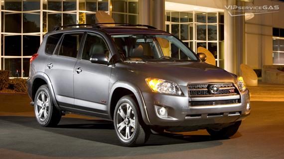 Установка ГБО на Toyota RAV4 2.0 — 145 л.с.