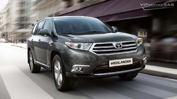 Установка ГБО на Toyota Highlander 3.5 — 273 л.с.