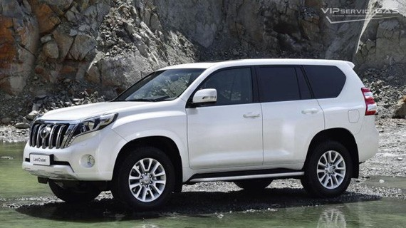 Установка ГБО на Toyota Land Cruiser Prado 4.0 TRJ 150