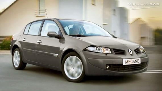 Установка ГБО на Renault Megane 1.4 — 100 л.с.