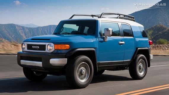 Установка ГБО на Toyota FJ Cruiser 4.0 — 260 л.с.