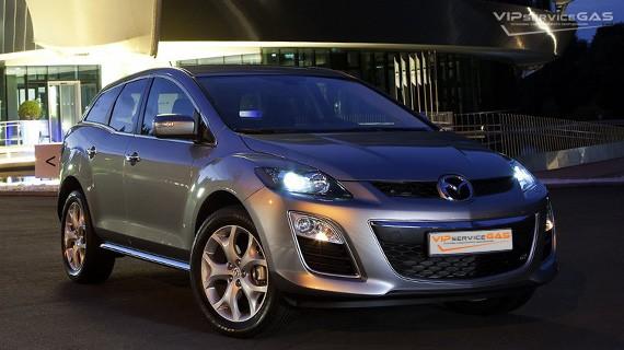Установка ГБО на Mazda CX-7 2.3T — 238 л.с.