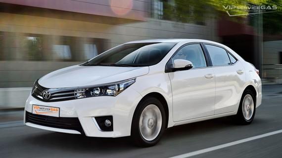 Установка ГБО на Toyota Corolla 1.6 — 122 л.с.