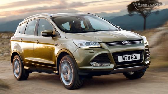 Установка ГБО на Ford Kuga 1.6 EcoBoost 2014 | 1.5 EcoBoost 2017