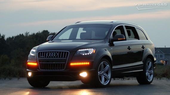 Установка ГБО на Audi Q7 3.0 TFSI