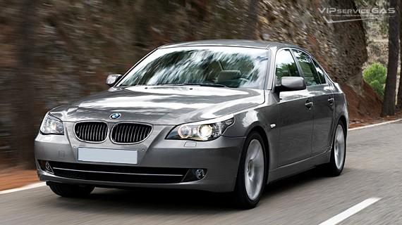Установка ГБО на BMW e60 530i