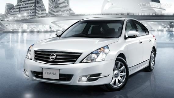 Установка ГБО на Nissan Teana 3.5