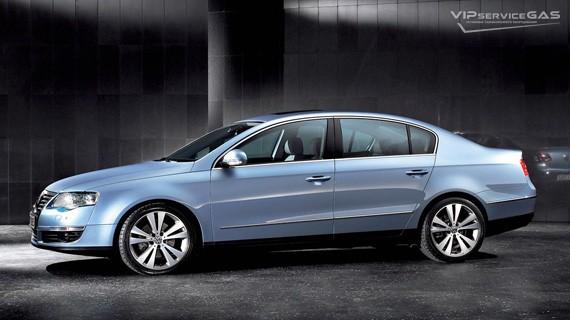 Установка ГБО на Volkswagen Passat B6 2.0, 3.2 FSI