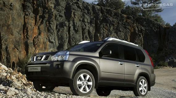 Установка ГБО на Nissan X-Trail
