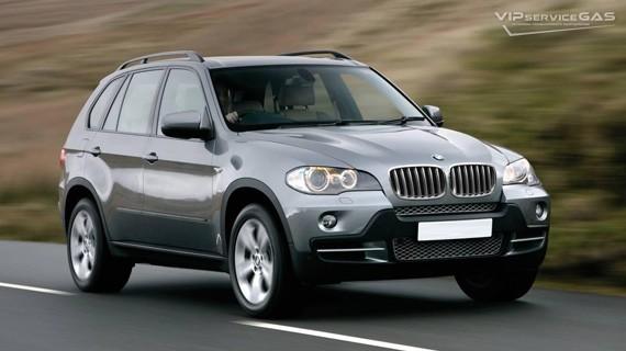 Установка ГБО на BMW X5 — 2008