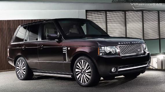 Установка ГБО на Range Rover — 2007