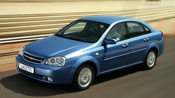 Установка ГБО на Chevrolet Lacetti 1.6 — 2008