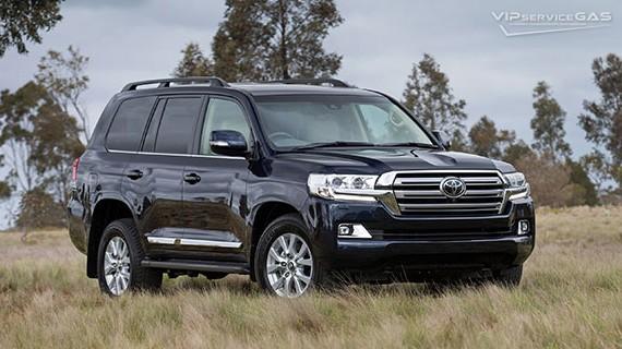 Установка ГБО на Toyota Land Cruiser 200 — 2019