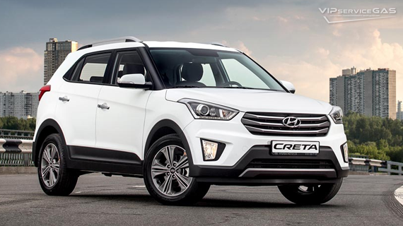 Установка ГБО на Hyundai Creta 2016