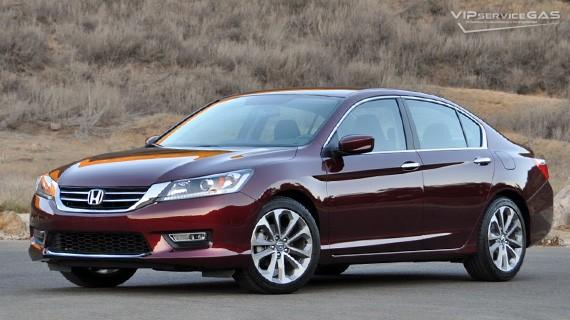 Установка ГБО на Honda Accord 9 Earth Dreams с непосредственным впрыском