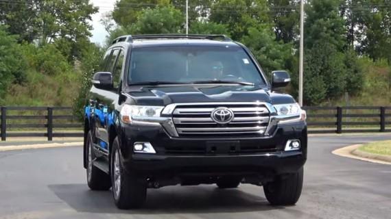 Установка ГБО на Toyota Land Cruiser 200 4.6 2019