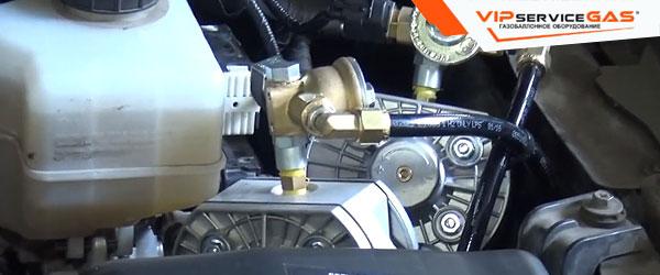 Установка гбо на Nissan Patrol V8