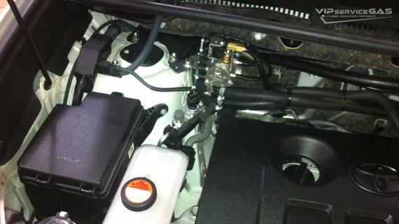 Установка гбо на Toyota Rav 4