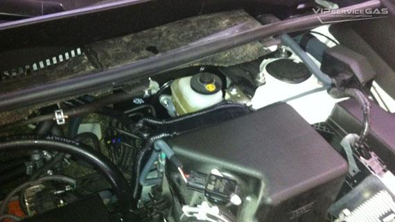 Гбо на Toyota Rav 4