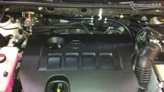 Газ на Тойота РАВ4