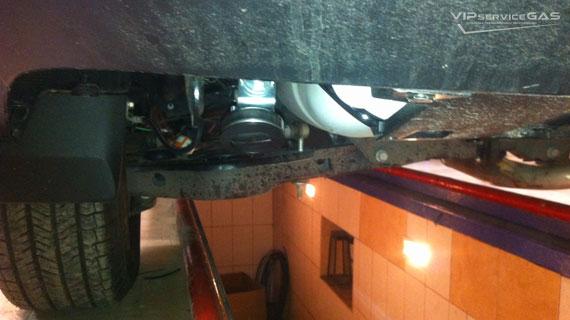 Газ на Toyota Rav 4 - 2015