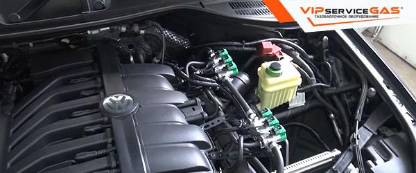 Газ на Volkswagen Touareg 3.6 FSI