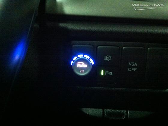 Газ на Хонда Аккорд 2.0