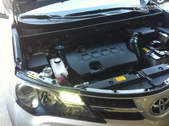 Установка гбо на Toyota Rav4 2.0