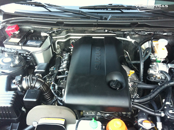 Газ на Suzuki Grand Vitara