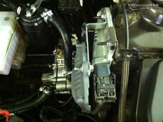 настройка ГБО на Dacia Logan