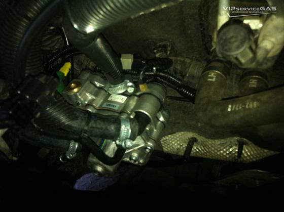 Газ на Ford Focus