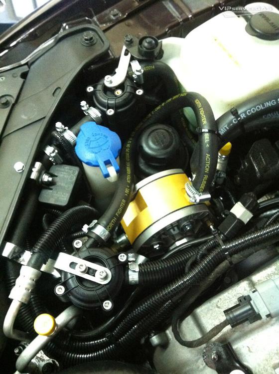 Газ на Hyundai Grandeur
