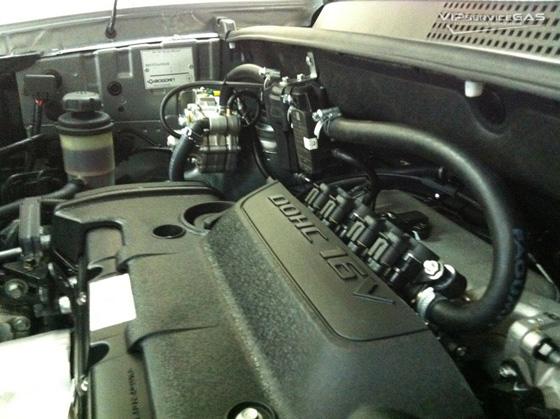 Газ на Hyundai Tucson