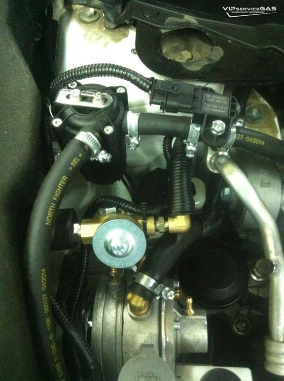 Газ на Nissan Murano Prins